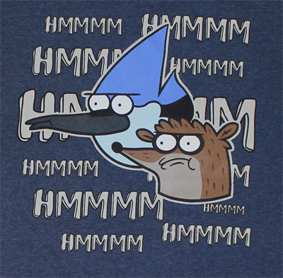 Hmmm - Regular Show Youth T-shirt