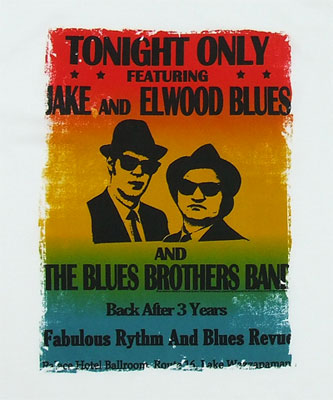 Tonight Only - Blues Brothers Sheer T-shirt