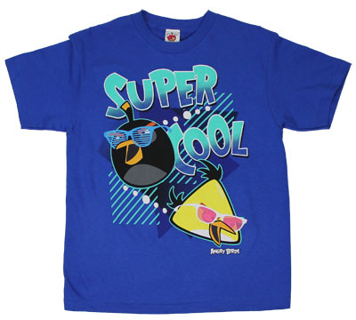Super Cool - Angry Birds Youth T-shirt