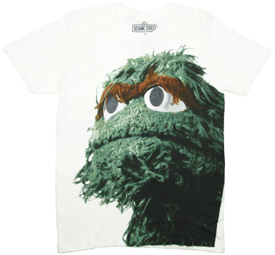 Big Photo Oscar - Sesame Street T-shirt