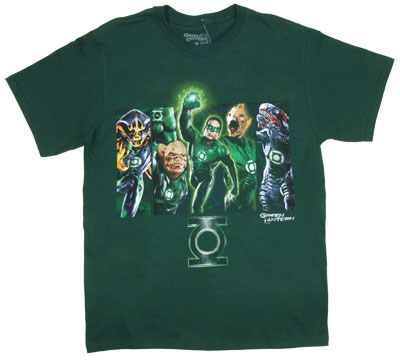Corps Unite - The Green Lantern T-shirt