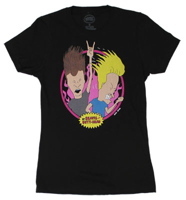 Headbangers - Beavis And Butthead Sheer Women&#039;s T-shirt