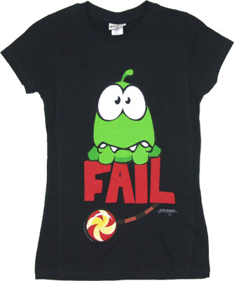 Fail - Cut The Rope Sheer Women&#039;s T-shirt