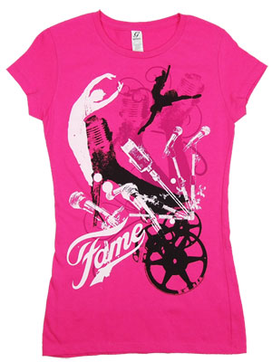 Fame Pink - Fame Sheer Women&#039;s T-shirt