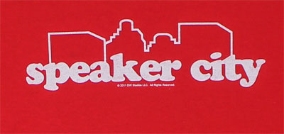 Speaker City - Old School T-shirt
