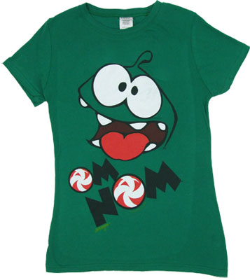 Om Nom - Cut The Rope Sheer Women's T-shirt