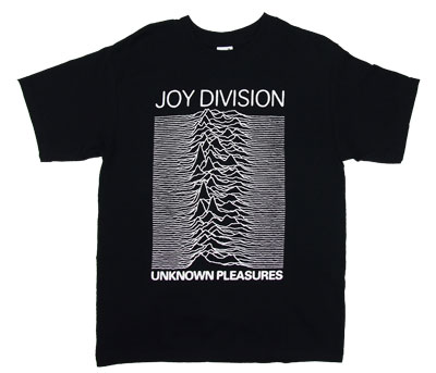 Unknown Pleasures - Joy Division T-shirt