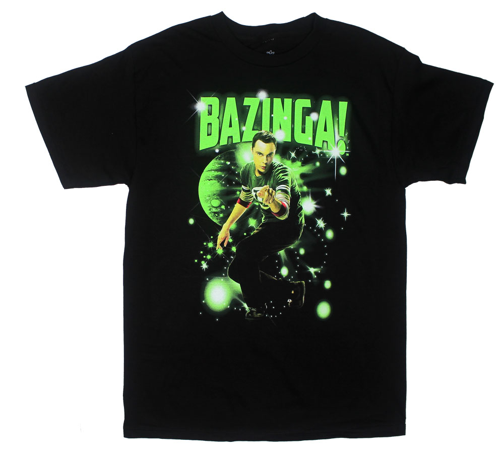 Bazinga Stars - Big Bang Theory T-shirt