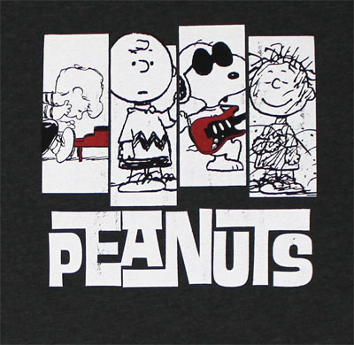 Peanuts Four - Peanuts Sheer T-shirt