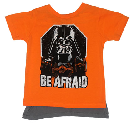 Be Afraid - Star Wars Toddler Caped T-shirt