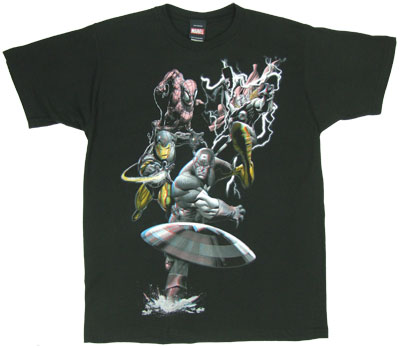 Colorful Display - Marvel Comics T-shirt