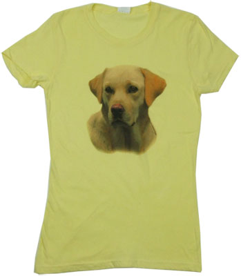 Yellow Lab Sheer Women's T-shirt