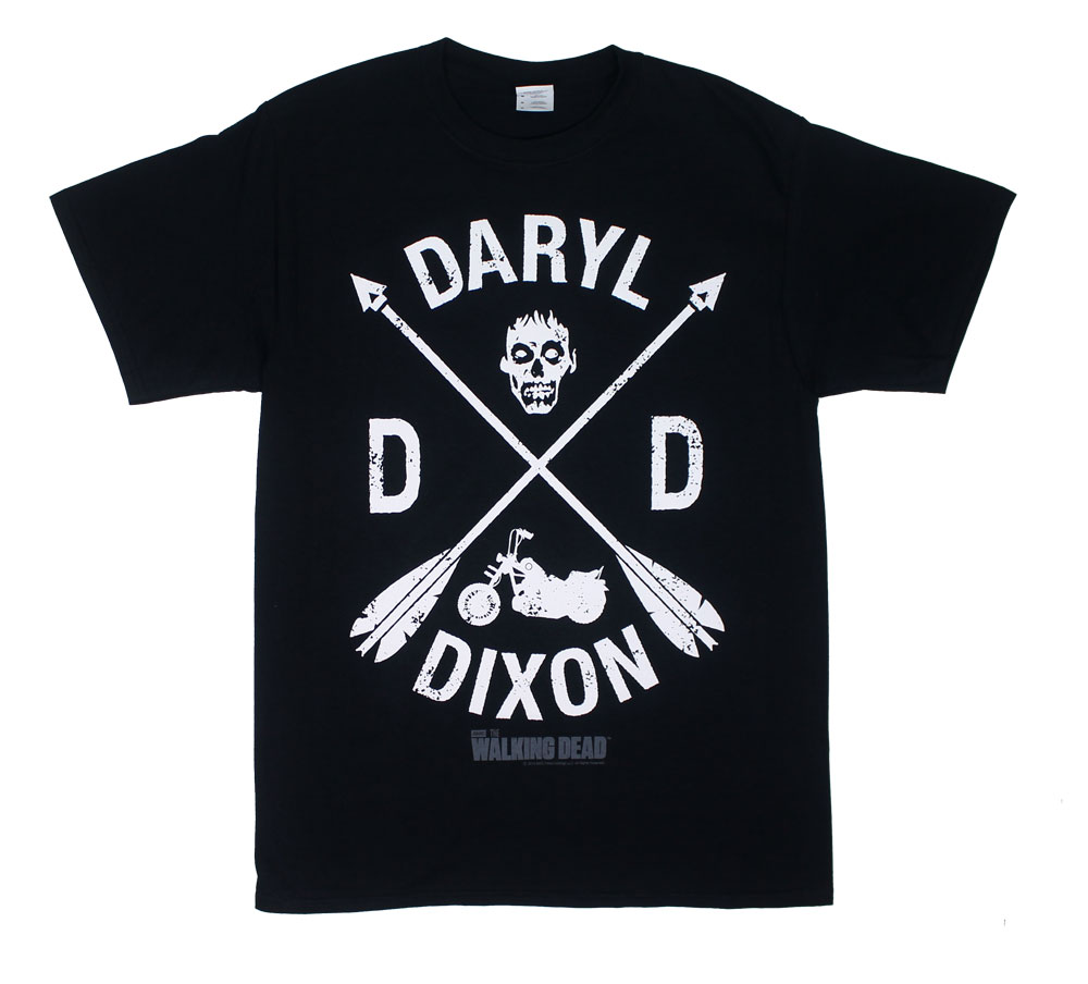 22239 Daryl Dixon Crest - Walking Dead T-shirt