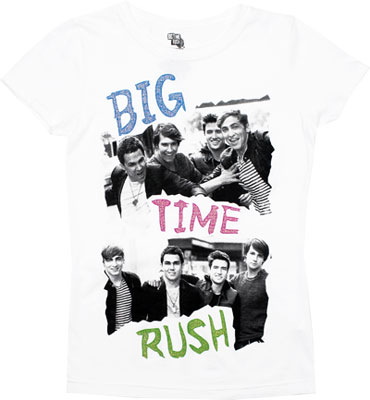 Photos - Big Time Rush Girls T-shirt