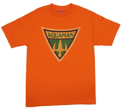 Aquaman Shield - Batman The Brave And The Bold T-Shirt