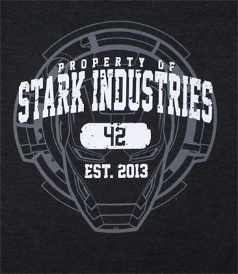 Property Of Stark Industries - Iron Man 3 Sheer T-shirt