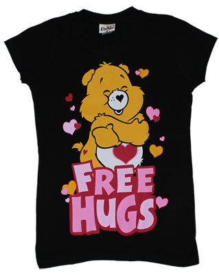 Free Hugs - Care Bears Sheer Women's T-shirt
