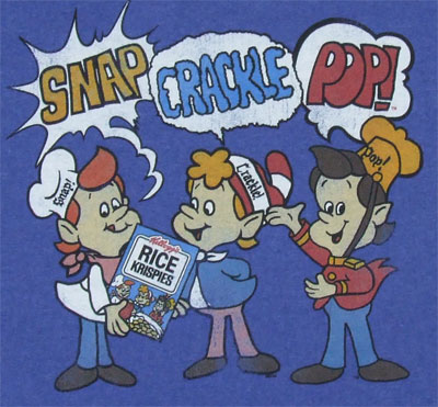 Snap Crackle And Pop - Rice Krispies T-shirt