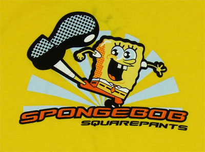 Spongebob Kick - Spongebob Squarepants Boys T-shirt