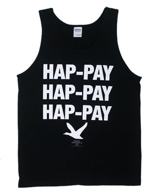 Hap-Pay Hap-Pay Hap-Pay - Duck Dynasty Tank Top