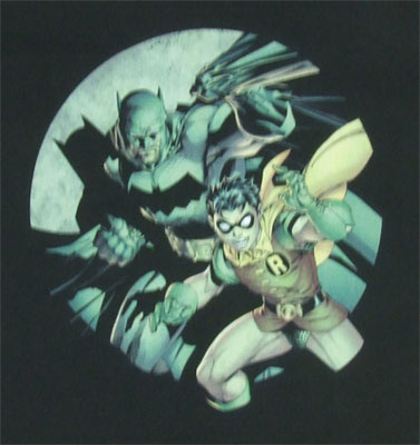 Spotted - Batman And Robin - DC Comics T-shirt