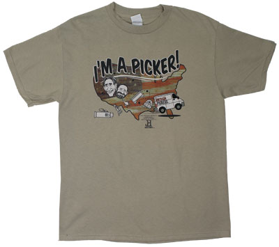 I'm A Picker - American Pickers T-shirt