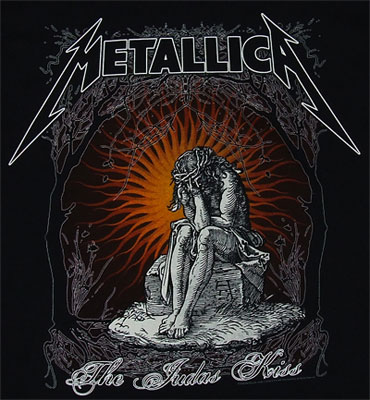 The Judas Kiss - Metallica T-shirt