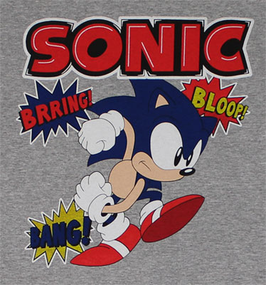 Sounds - Sonic The Hedgehog T-shirt