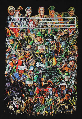 Full Crew - G.I. Joe Sheer T-shirt