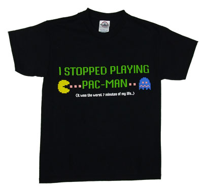 I Stopped Playing Pac-Man - Pac-Man Boys T-shirt