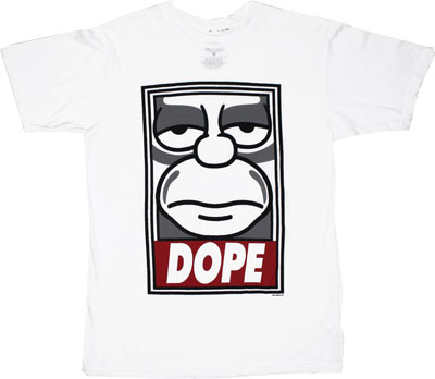 Dope - Simpsons Sheer T-shirt