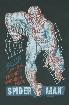 Friendly Neighborhood Spider-Man - Junk Food Men's T-shirt