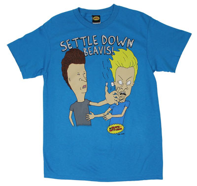 Settle Down Beavis! - Beavis And Butthead T-shirt