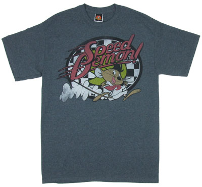 Speed Demon! - Speedy Gonzalez - Looney Tunes T-shrt