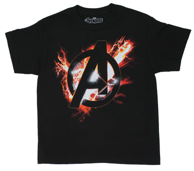 Electric Logo - Avengers Youth T-shirt