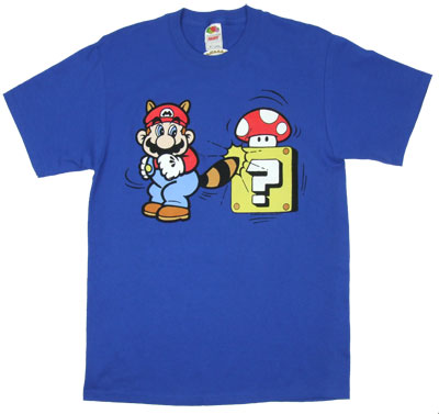 Tail Spin - Mario - Nintendo T-shirt