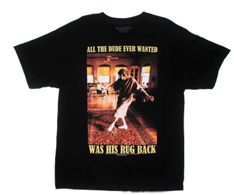 All The Dude Ever Wanted - Big Lebowski T-shirt