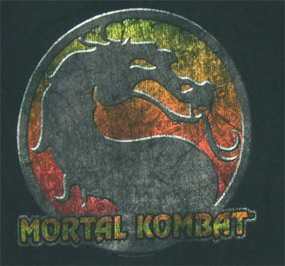 Retro Logo - Mortal Kombat T-shirt