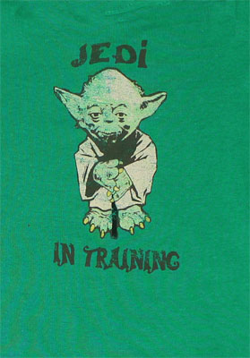 Jedi In Training - Star Wars Infant Onesie