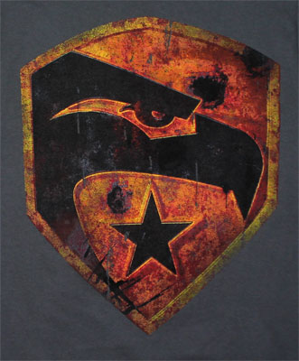 Eagle Logo - G.I. Joe Retaliation T-shirt