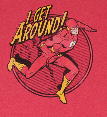 I Get Around - DC Comics T-shirt