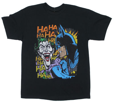 In Your Face - DC Comics T-shirt