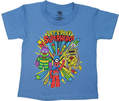 Let&#039;s Play Superhero! - Yo Gabba Gabba Toddler T-shirt