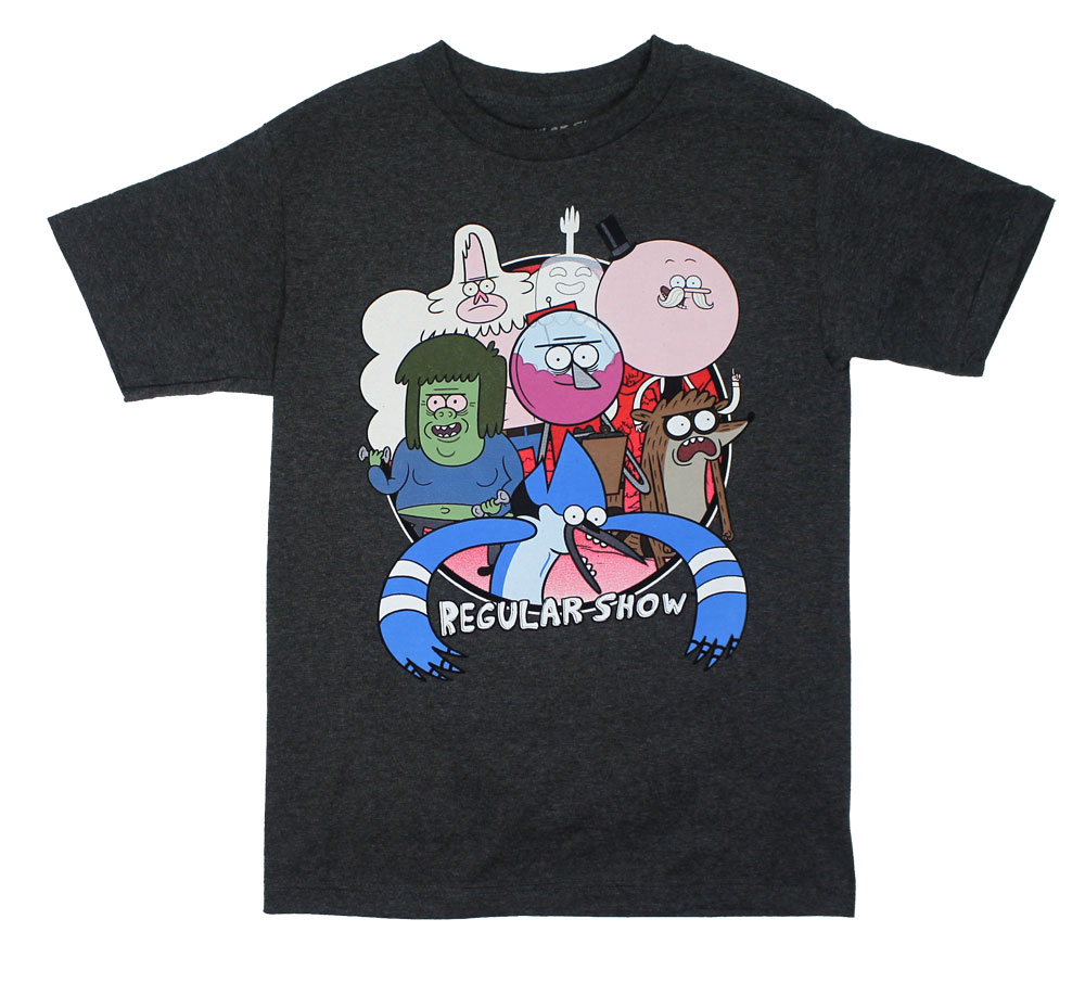Full Cast - Regular Show T-shirt