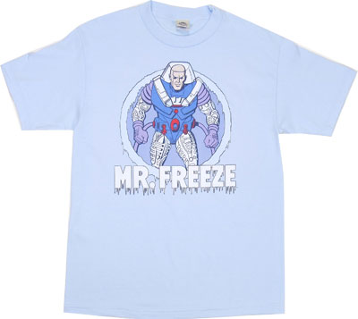 Mr. Freeze - DC Comics T-shirt