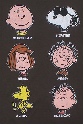 Peanuts Faces - Peanuts Sheer T-shirt