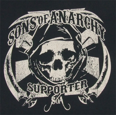 Sons Of Anarchy Supporter - Sons Of Anarchy T-shirt