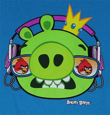 Pig Face - Angry Birds T-shirt