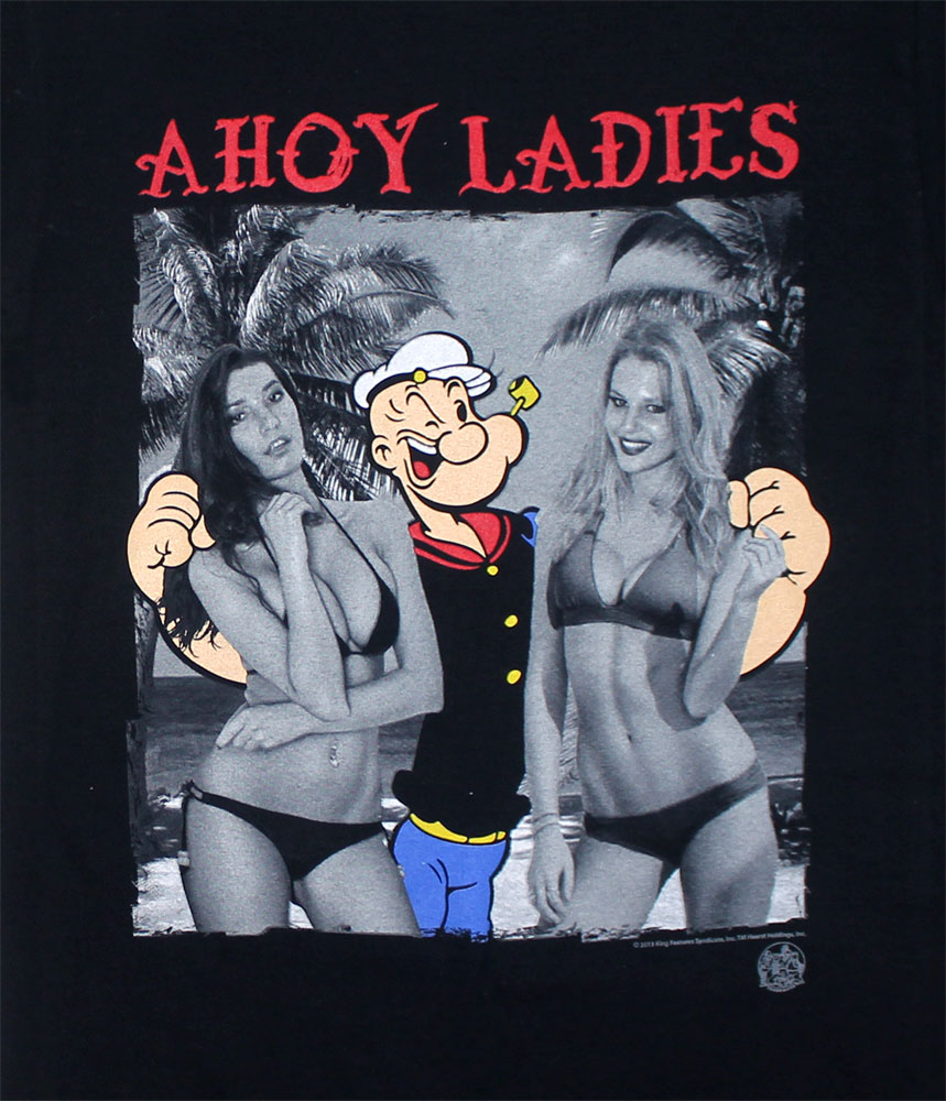 Ahoy Ladies - Popeye T-shirt