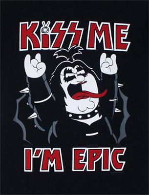Kiss Me I'm Epic - Family Guy T-shirt